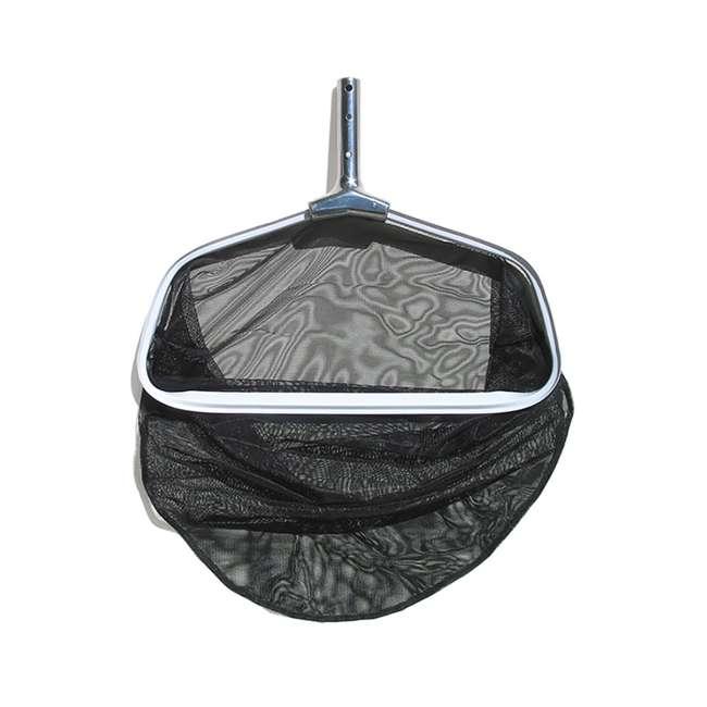 21184 Poolmaster Premier Leaf Rake with Deep Pocket and Mesh Net