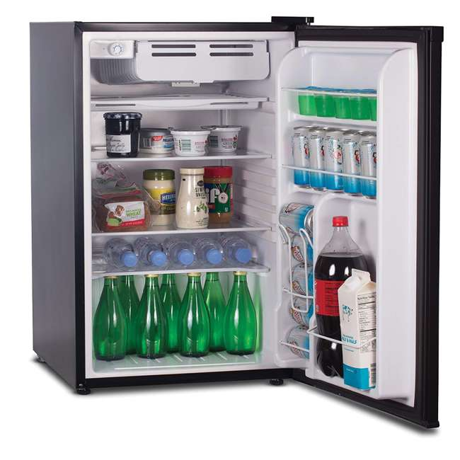 CCR45B Commercial Cool 4.5 Cu. Ft. Compact Refrigerator, Black 1