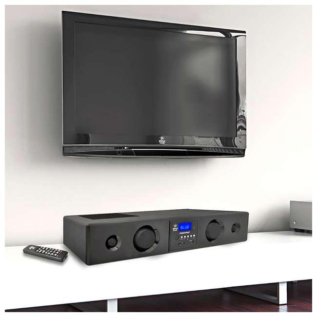 PSBV200BT Pyle 300W Bluetooth USB/SD/FM Radio Soundbar & Remote (2 Pack) 3