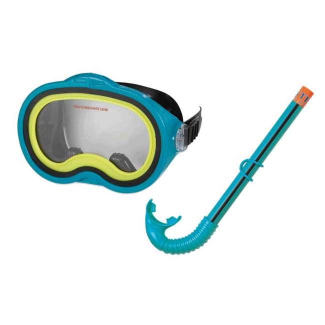 55942 Intex Adventurer Swimming / Diving Mask & Snorkel Set 1