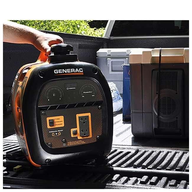 GNRC-6866-OB Generac iQ2000 2000 Watt Gas Powered Portable Inverter Generator (Open Box) 6