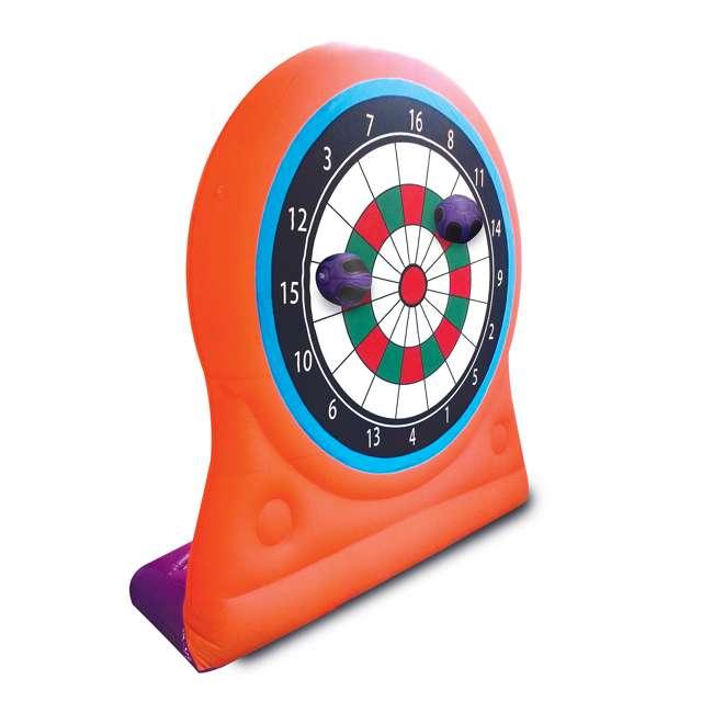 MTI-90969 Magic Time International Inflatable Self Sticking Dart Board Soccer Target Game