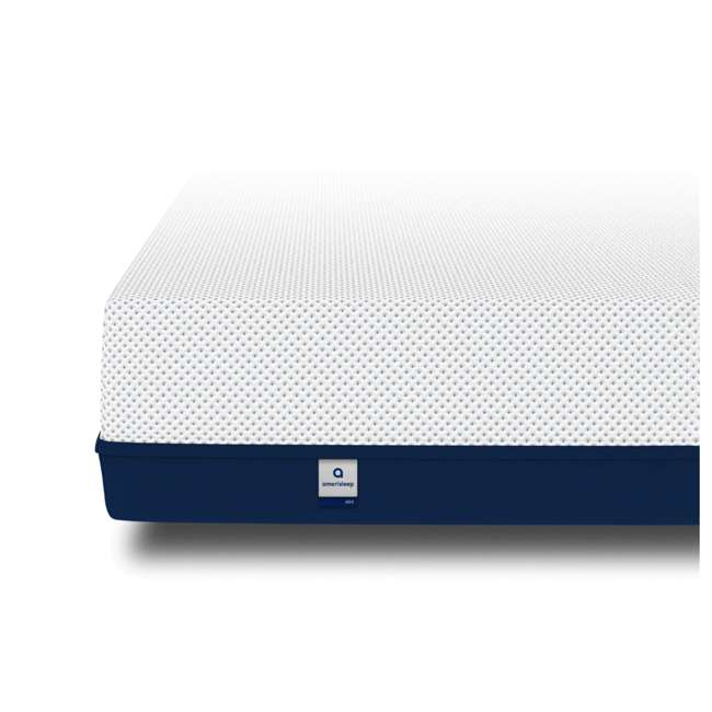 AS4-Q Amerisleep AS4 Medium Softness Bio Core HIVE Foam Queen Size Mattress, White 2