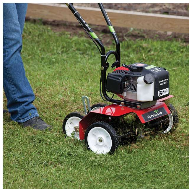 EARTH-DK43-U-C Earthquake DK43 Lawn Grass Dethatcher Kit for Mini Cultivator Tiller (For Parts) 4