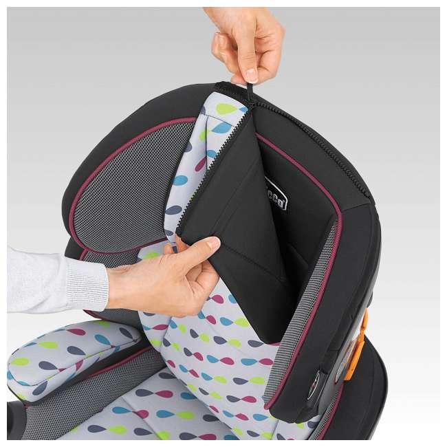 chicco kidfit zip booster seat gem 07079485910070. Black Bedroom Furniture Sets. Home Design Ideas