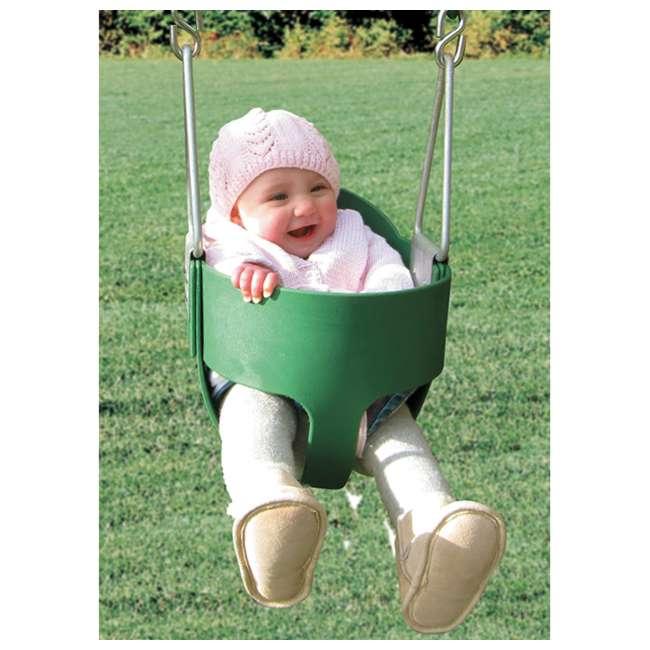 AA929-262 Creative Playthings AA929-262 Playground Play Set Baby Toddler Bucket Swing Seat 1