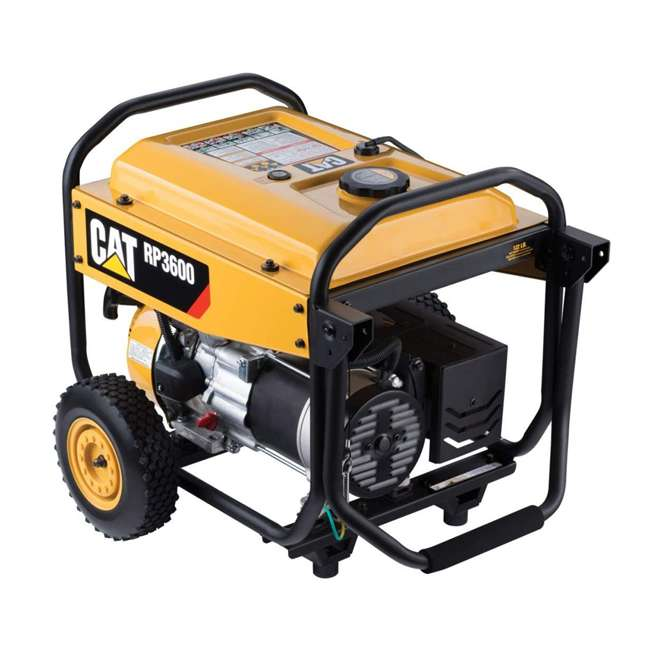 CAT-502-3684 CAT 502-3684 3,600 Running Watts 13 Hour 5 Outlet LED Lit Portable Generator 1