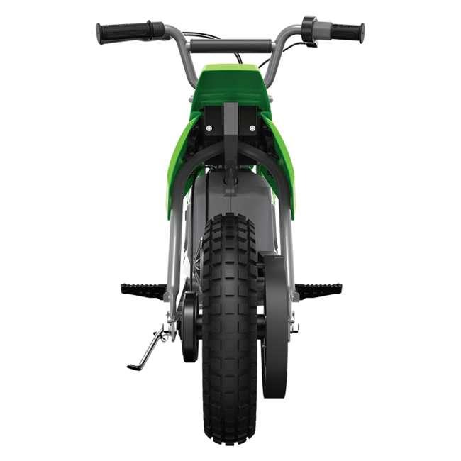 15128030 + 97775 Razor MX400 Dirt Rocket Moto Bike & Full Face Helmet 5