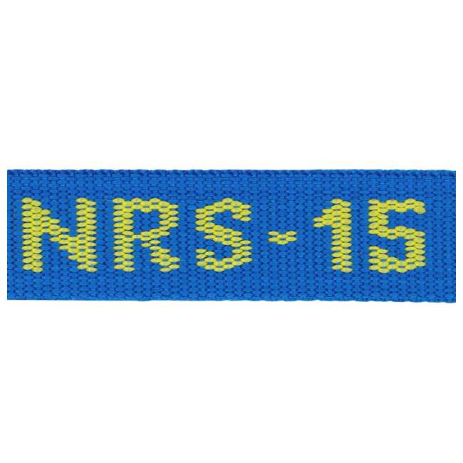 NRS_60001_01_107 NRS 1-Inch Long Heavy Duty Tie Down Strap, Blue (15 Feet) (2 Pack) 4