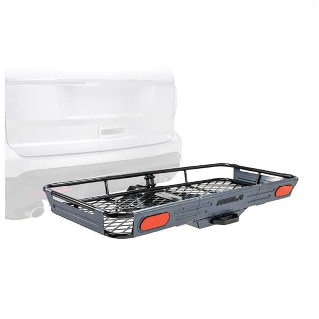 ROLA-59550-U-C ROLA Rear Mounting Basket Style Cargo Carrier for 450 lbs, Black (For Parts)
