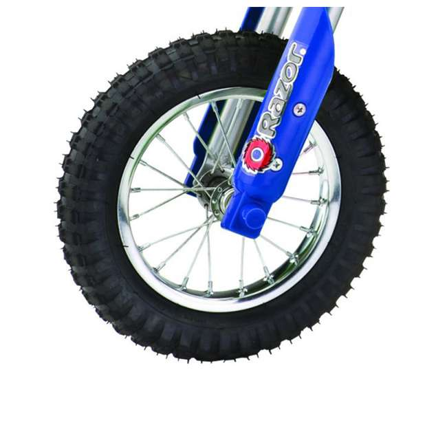 15128040 Razor MX350 Dirt Rocket Electric Motorcycle Dirt Bike, Blue 5