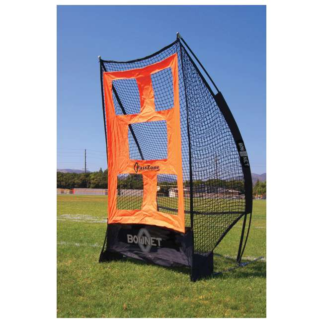 Bow-SoloKicker-BK Bownet Portable Football Sideline Solo Kicker 1