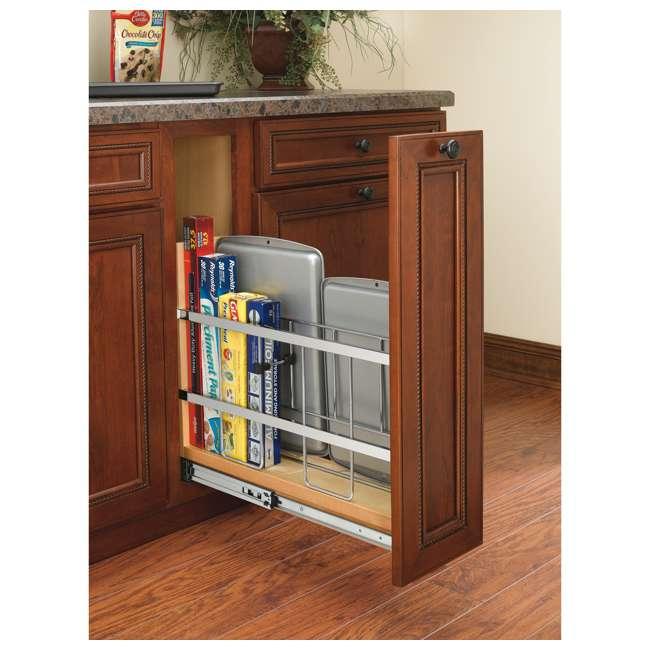 447-BCSC-5C Rev-A-Shelf 447-BCSC-5C 5 Inch Kitchen Pull Out Tray Divider Cabinet Organizer 1
