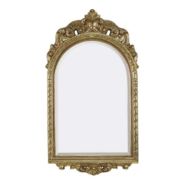 1322-B Majestic Traditional French Style Beveled Decorative Mirror
