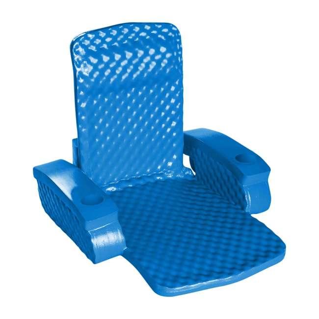 6370126-U-B TRC Recreation Super Soft Baja Swimming Pool Folding Chair Foam Float (Used)