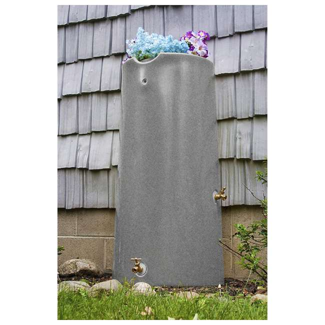 IMP-R50-LIG Good Ideas Impressions Reflections 50 Gallon Rain Saver, Light Granite 3