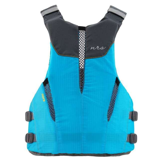 40073.01.103 NRS Womens Nora Type III Fishing Life Jacket Vest PFD w/ Pockets, Large/XL, Teal 1