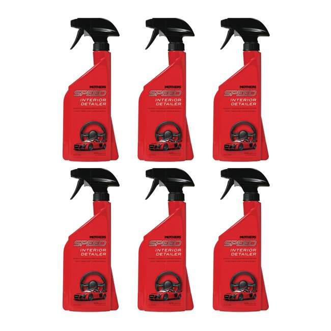 18324 Mothers Polish 18324 Speed Interior 24 Ounce Bottle of Car Interior Detailer (6 Pack)