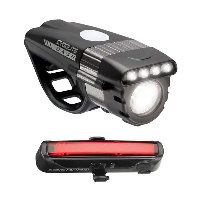 DSH-600-HR Cygolite Dash Pro 600 Lumen Headlight & Hotrod 50 Lumen Tail Light Combo Set