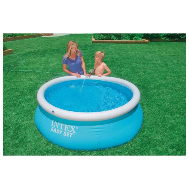 Intex 6 39 x 20 easy set inflatable swimming pool 28101eh Intex inflatable swimming pool