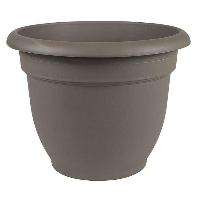 3 x AP1060 Bloem Ariana Self Watering Planter 10 Inch, Peppercorn (3 Pack) 1