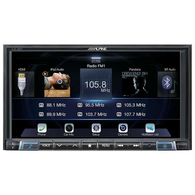 iLX-207 Alpine 7-Inch In-Dash Wireless Apple CarPlay & Android Auto Receiver 1