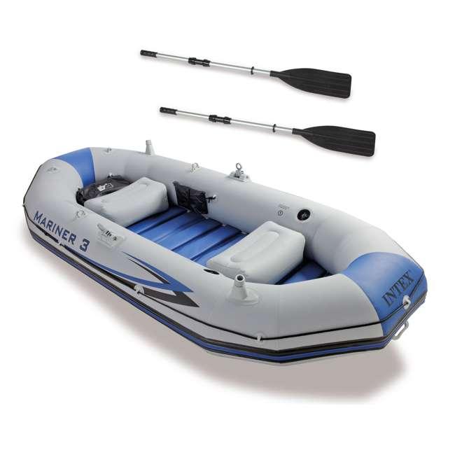 68373EP Intex Mariner 3-Person Inflatable Boat Set