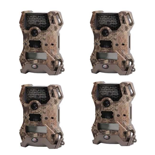 4 x WGI-V12B14C Wildgame Innovations Vision Lightsout 12MP Camera (4 Pack)