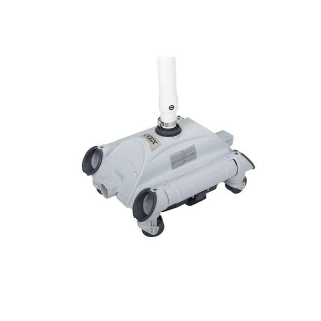 26647EG + 28001E Intex Pool Sand Filter Pump and Automatic Pool Vacuum 10