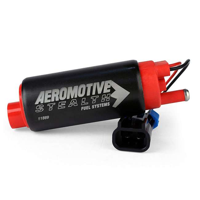 AERO-11569 Aeromotive 340 Series Stealth In-Tank Center Inlet-Offset E85 Fuel Pump System 1