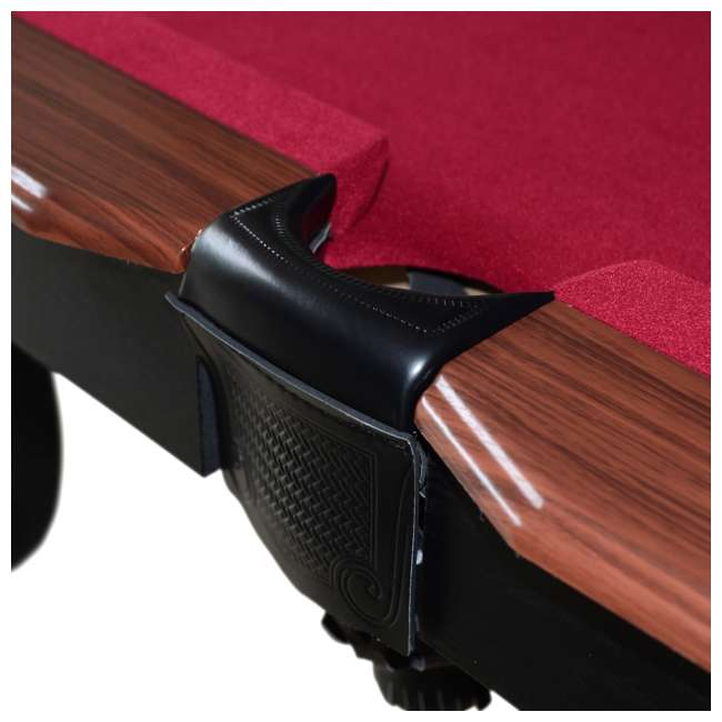 BL090Y19019 Lancaster 90 Inch Traditional Full Size Billiard Pool Table Set w/ Accessories 4
