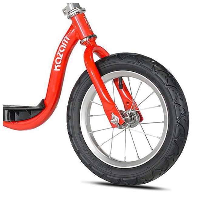KZM15SRD-U-A Kazam Easy Balance Step Through Frame Neo Balance Bike (v2s), Red (Open Box) 4