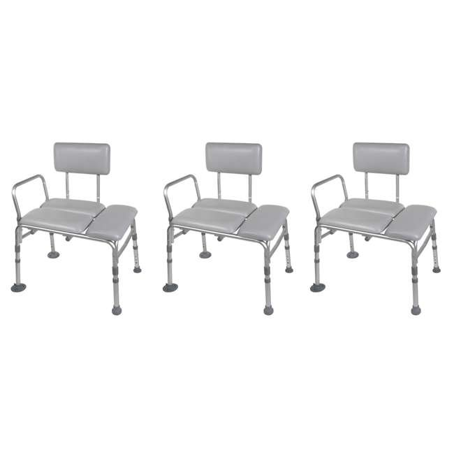 3 x LF740-PDBENCH Bios Living Adjustable Bath Transfer Bench (3 Pack)