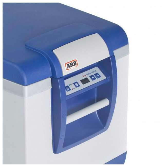 10800602-ARB + MTX02BK ARB Portable 63 Qt. Car Travel Fridge Freezer & MAXTRAX Vehicle Recovery Device 10