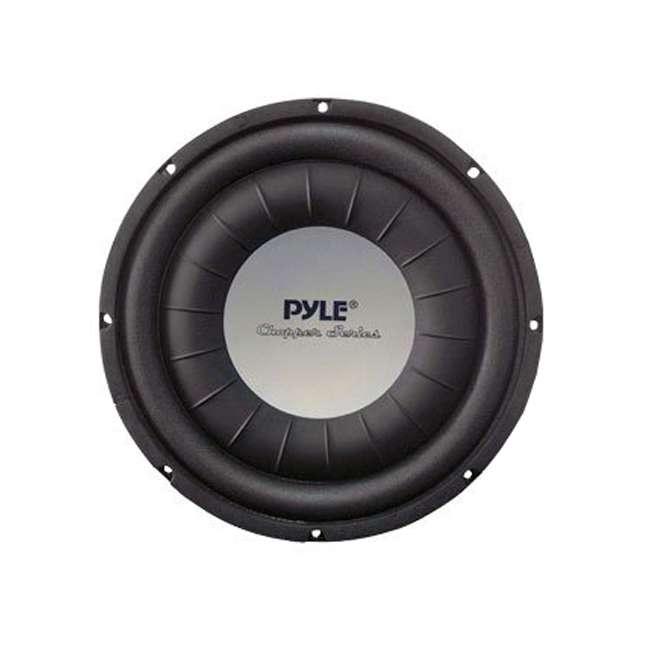 """PLWCH10D PYLE PLWCH10D 10"""" 1000W Slim/Shallow Mount Car Audio Subwoofer Sub Woofer DVC"""