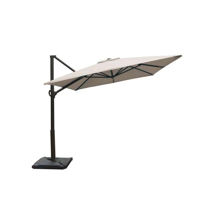 APNRC810SC Abba Patio 8 x 10 Feet Rectangular Umbrella, Sand 4