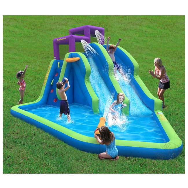90793 Kahuna Twin Falls Inflatable Water Slide 1