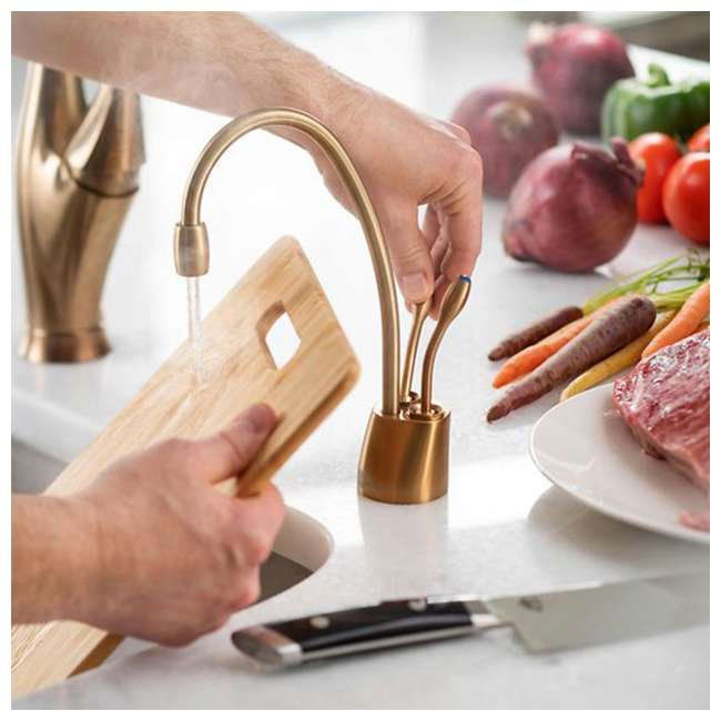 F-HC1100SN-U-C InSinkErator Indulge Hot/Cool Kitchen Sink Faucet, Satin Nickel (For Parts) 3