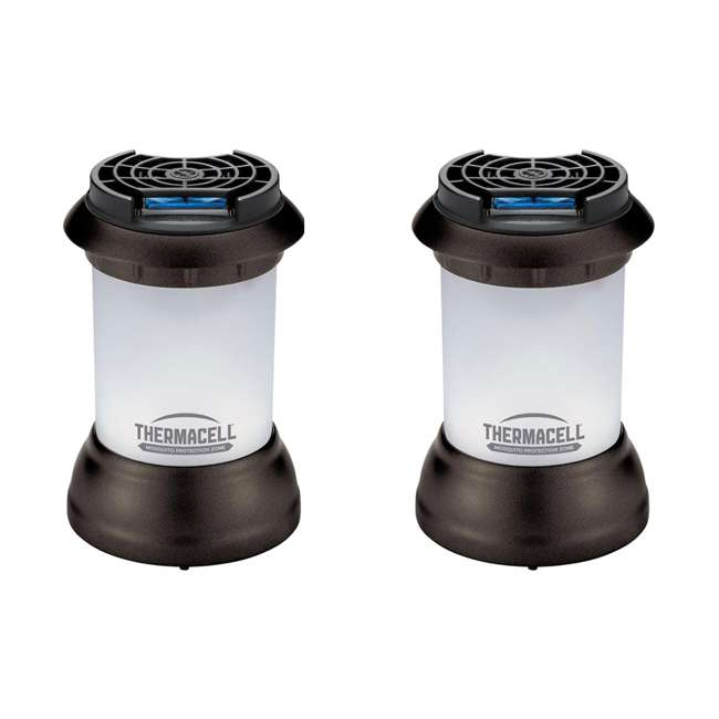 MR9SB Thermacell Bristol Outdoor Mosquito Repeller Lantern (2 Pack)