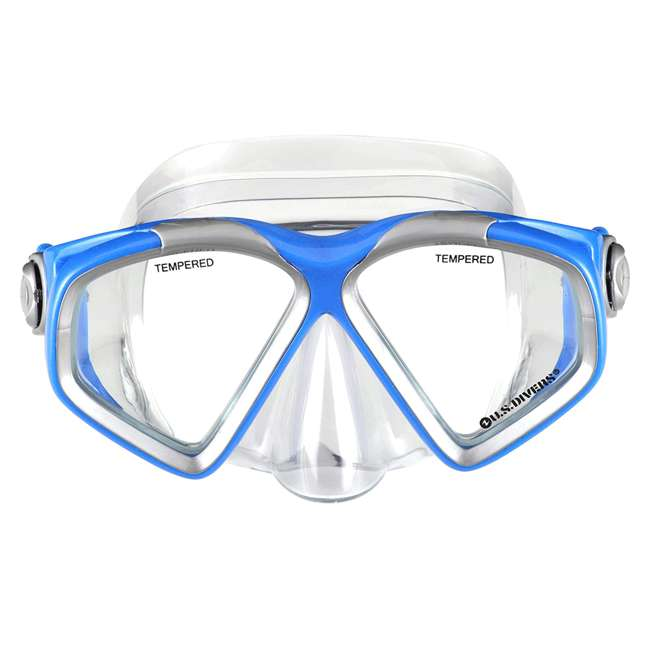 SR259O4015S U.S. Divers Cozumel Comfortable Snorkeling Set with Fins, Mask, Snorkel, and Bag 1