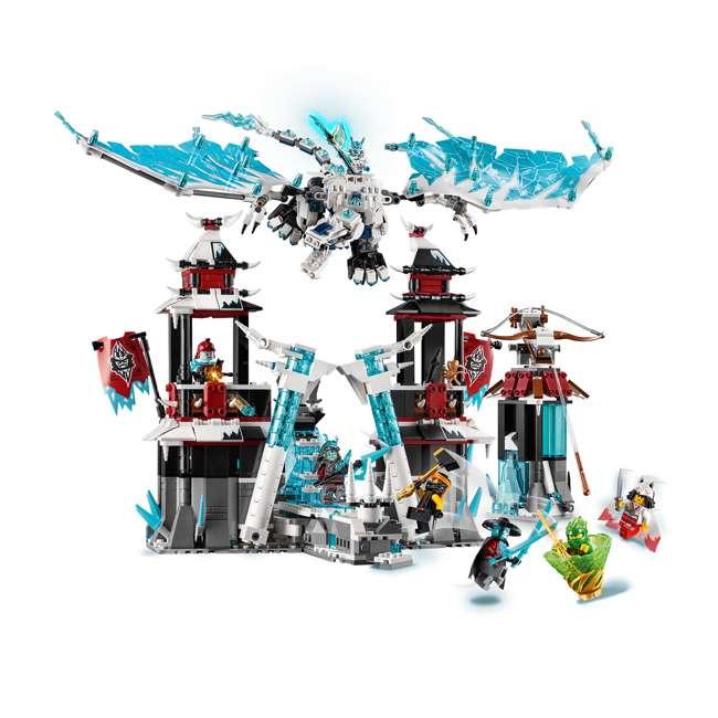 6250938 LEGO Ninjago Castle of the Forsaken Emperors 1218 Piece Kit with 7 Minifigures 4