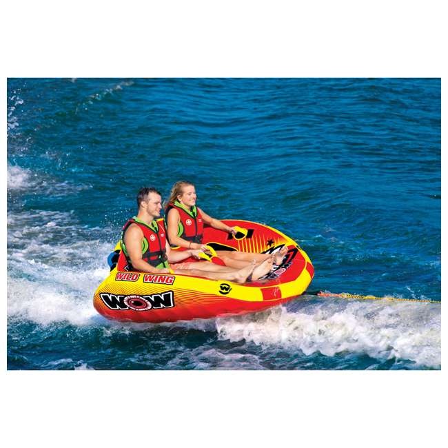 18-1120 World of Watersports Wild Wing 2 Rider Inflatable Tube 4