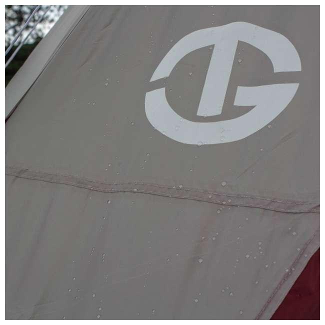 TGT-CARSON-18-B-U-A Tahoe Gear Carson 3 Season 14 Person 25x17.5' Family Cabin Tent, Red (Open Box) 9