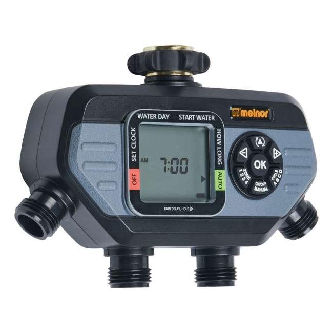 MEL-73280 Melnor 73280 HydroLogic 4 Zone Digital Water Timer (2 Pack) 1