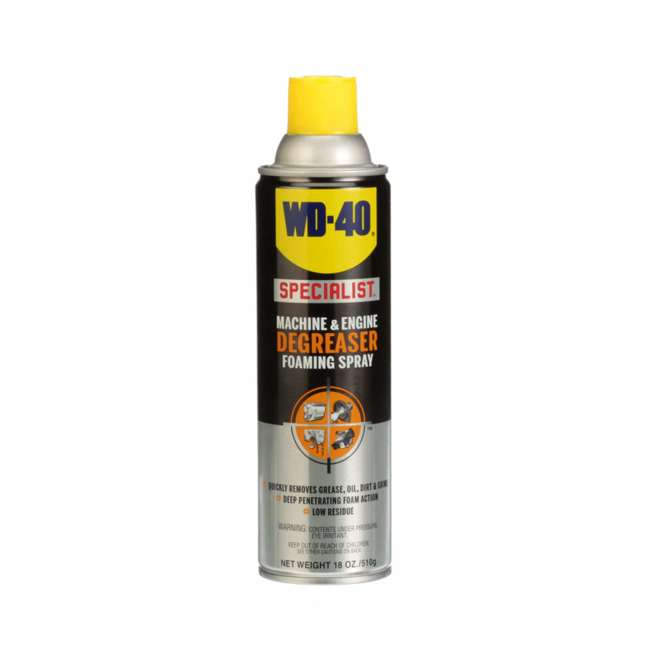 WD-300070 WD-40 Machine and Car/Truck Engine Cleaner Degreaser Foaming Spray, 18 Ounce