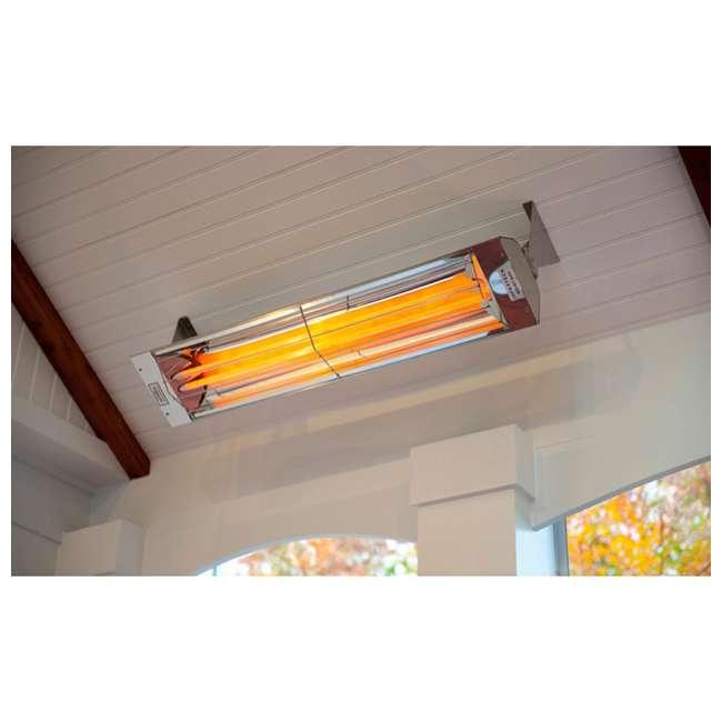WD5024SS-OB Infratech WD-Series 5,000 Watt 240V Infrared Patio Heater 1