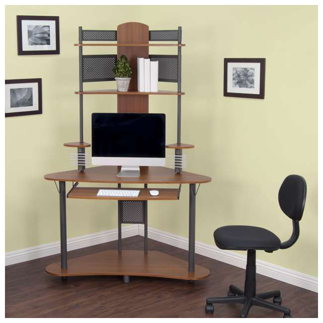 STDN-50500 Calico Designs Arch Tower Computer Desk (2 Pack) 5