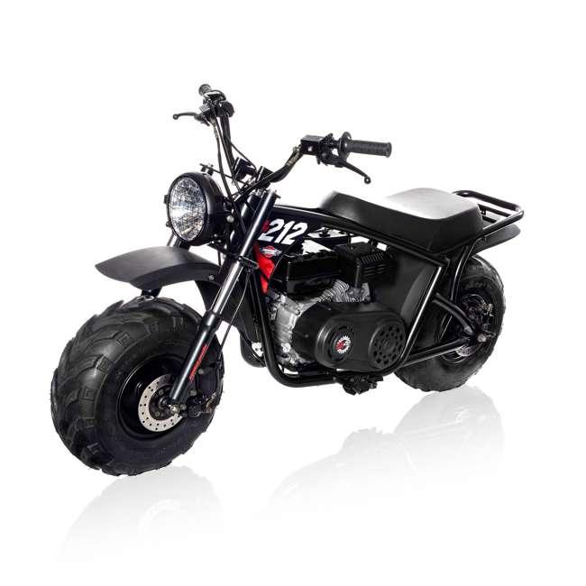 MM-B212-BR Monster Moto 212cc Gas-Powered Off-Road Mini Dirt Bike