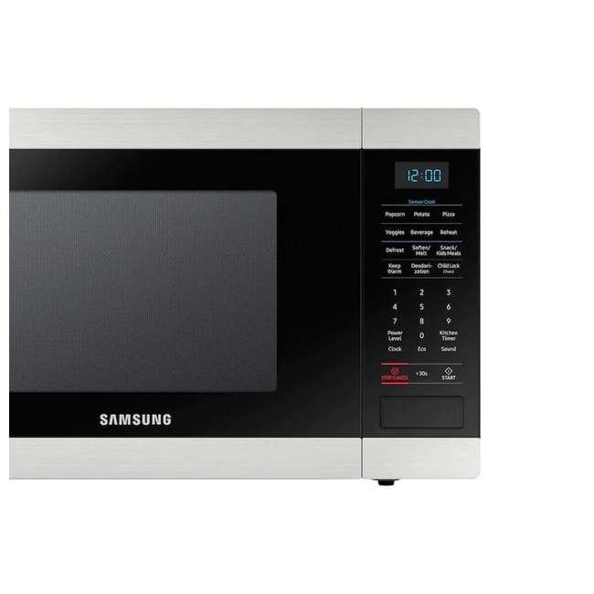 MS19N7000AS-RB Samsung Stainless Steel 1.9 Cu. Ft. Countertop Microwave (Certified Refurbished) 2