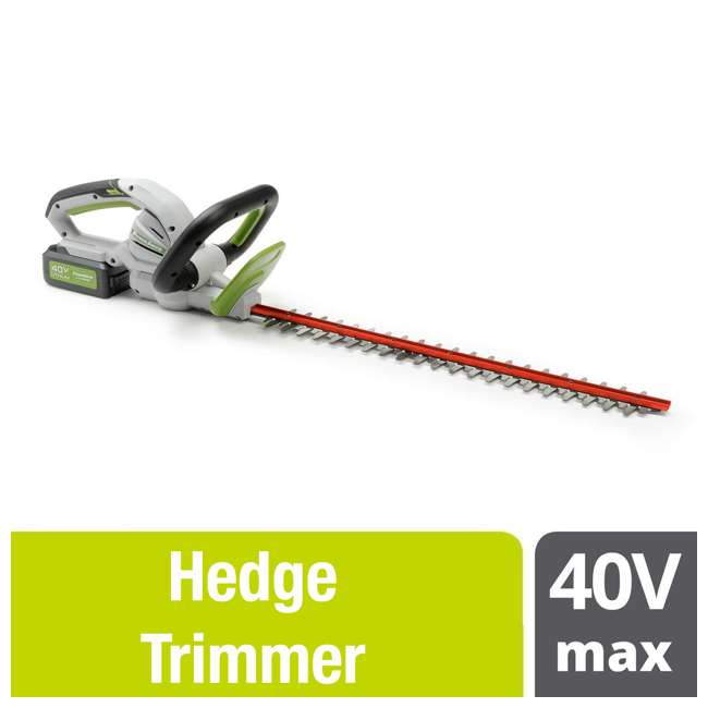 PHT140 Powersmith 40-Volt Max Cordless Hedge Trimmer (2 Pack)  2
